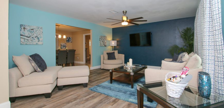 "KMG: ""AQUA VILLA"" 3BD 2BA W/ HEATED POOL BY TPA AIRPORT"