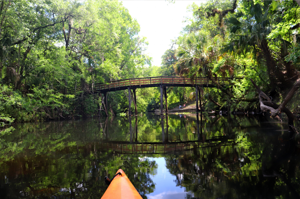 Canoe on Hillsborough River