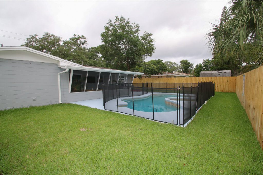 Home with Fenced Yard and Fenced Pool